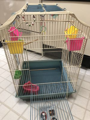 Cage, dishes, travel carrier, toys and more! for Sale in Montpelier, MD