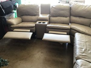 SECTIONAL WITH RECLINER SOFA BED for Sale in Richardson, TX