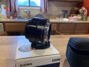 Sony A6000-A6500 - Sigma 30mm 3.8 lens for your mirrorless camera! for Sale in Carol Stream, IL