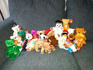 TY beanie babies for Sale in Lowell, MA