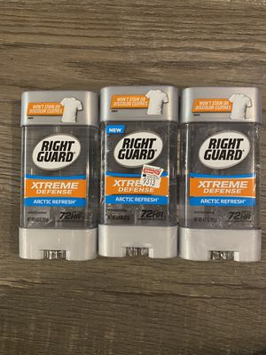 Right guard artic refresh deodorant $2.50 each for Sale in Arrowhead Farms, CA