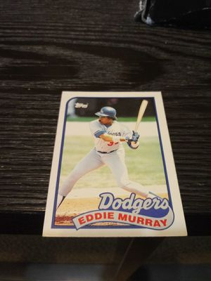 Eddie Murray Baseball Card for Sale in Waynesville, MO