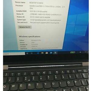 Lenovo X1 Carbon 6th Gen - Core I5 7th Gen, 8GB RAM, 256GB SSD, Win 10 Pro for Sale in Addison, TX