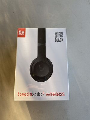 Dr Dre beats solo 3 wireless for Sale in Baldwin Park, CA