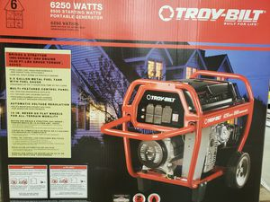 Generator troy built 8500 starting watts for Sale in Farmville, VA