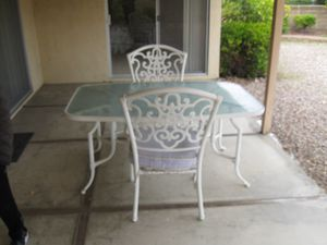 Patio table and chair set - outdoors for Sale in San Diego, CA