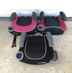 GRACO TURBO BOOSTER SEATS!!!!! $20 EACH!!! for Sale in San Bernardino, CA