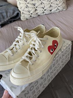 mens cdg converse for Sale in Fuquay-Varina,  NC