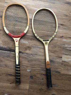 2 Vintage Tennis Rackets MacGregor Service Ace & Challenger for Sale in Pico Rivera, CA