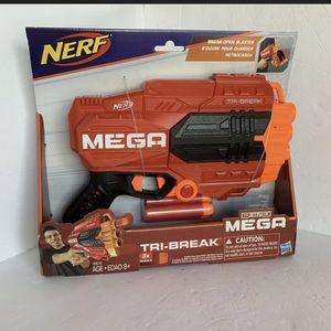 Nerf N-Strike Mega Tri-Break Blaster. Kids Dart Gun Toy for Sale in Georgetown, TX