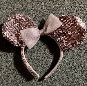 Disney Minnie Mouse Pink Sparkly Ears Headband! #disney #halloween #minniemouse #costume for Sale in San Diego, CA
