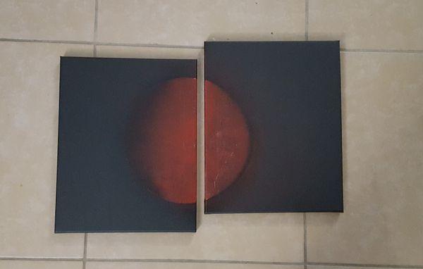 Custom art on canvas