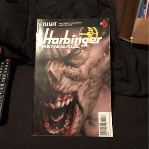 Harbinger Renegade Comic #6 for Sale in Mount Prospect, IL