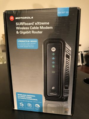 Motorola Wireless Modem & Gigabit Router for Sale in Los Angeles, CA