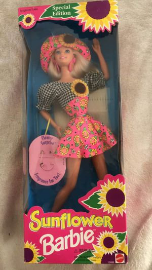 New sunflower barbie doll for Sale in Sacramento, CA