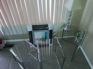 Glass tables. Coffee and end tables. for Sale in Detroit, MI