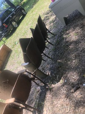Auditorium chairs from old Fairview school for Sale in Camden, AR
