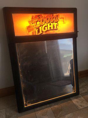 Coors Light Dry Erase Light-Up Menu Board for Sale in Belpre, OH