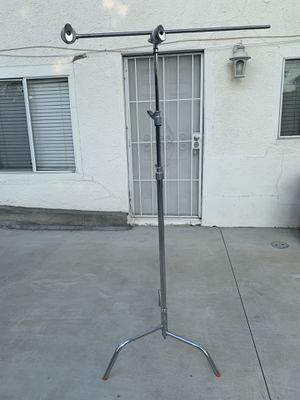 Matthews Century C+ Stand with Removable Turtle Base. Includes Grip Head and Arm for Sale in Los Angeles, CA
