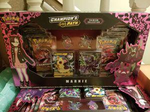Champion Path Marnie Trainer Pin Set Pokemon Trading Card for Sale in Boston, MA