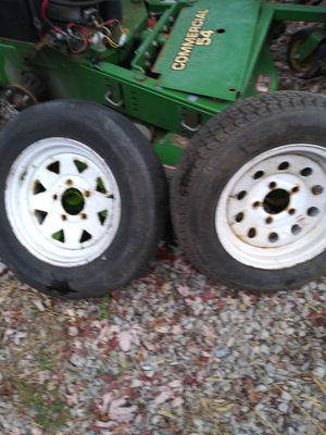 Trailer Tires. ST175/80aD13 1 tire like new other bold 50.00 for Sale in Oaklandon, IN