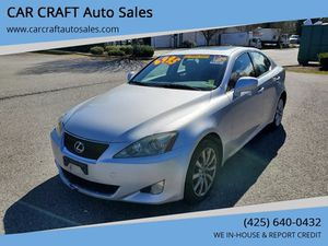 2007 Lexus IS 250 for Sale in Brier, WA