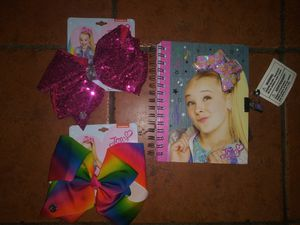 brand new JoJo siwa diary with lock and hair bows for Sale in Hawthorne, CA