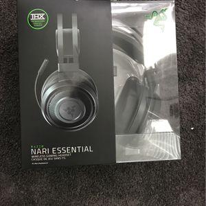 Razer Nari Essential Wireless Headset for Sale in Las Vegas, NV