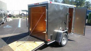 5x8 ENCLOSED VNOSE TRAILERS for Sale in New York, NY