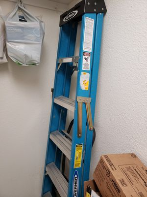6' ALL STEEL LADDER HEAVY DUTY for Sale in Azusa, CA