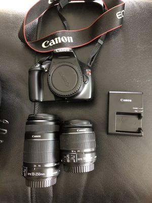 Canon EOS Rebel T3 set with zoom lens for Sale in Imperial Beach, CA