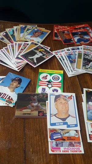 Cleveland Indians baseball cards for Sale in Akron, OH