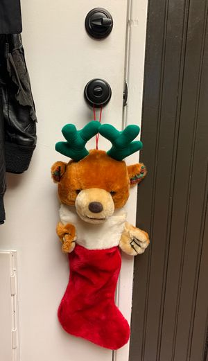 Reindeer stocking for Sale in Chino Hills, CA