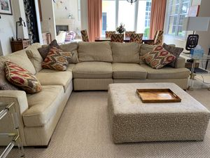 Sectional couch- Moving sale for Sale in West Palm Beach, FL