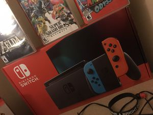 Nintendo Switch + accessories and games for Sale in Nashville, TN