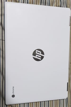 "HP Chromebook x360 14"" FHD Touchscreen Core i3 8GB 64GB eMMC White & Blue for Sale in Elk Grove Village, IL"