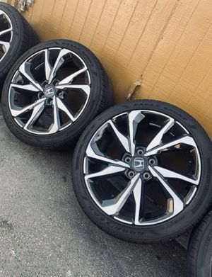 New Honda Civic Sport Touring Si Wheels Rims Tires Rines 2019 for Sale in Inglewood, CA