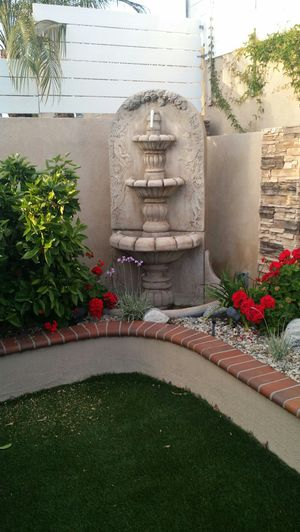 TWO AL-GARDEN WATER FOUNTAINS for Sale in Westminster, CA