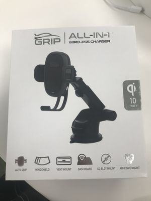Grip All-IN-1 Wireless Charger for Sale in Marquette, MI