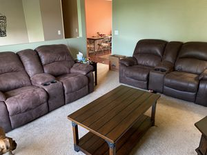 X2 leather recliner loveseats for Sale in Hardy, VA