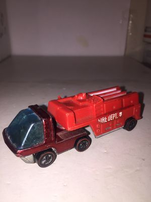 Vintage Hot Wheels Redlines 1969 The Heavyweights FIRE DEPT. for Sale in Brooklyn, NY