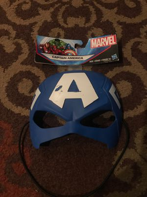Captain America mask for Sale in Fresno, CA