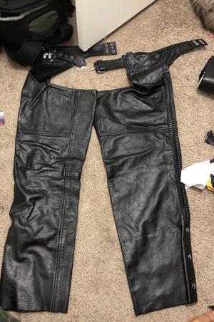 Fmc leather chaps for Sale in Phoenix, AZ