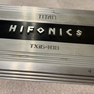 Car Amplifier Hiphonix Titan 4/Channels for Sale in Chula Vista, CA
