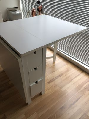 IKEA NORDEN Dining Table + 2 World Market chairs for Sale in Alameda, CA