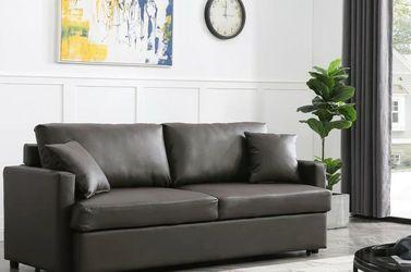 Rebecca Brown PU Sleeper Sofa VENDORMYCO for Sale in Houston,  TX