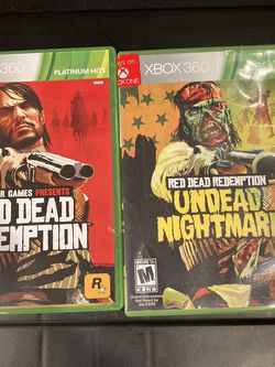 Red Dead Redemption + Undead Nightmare Xbox 360 for Sale in Happy Valley,  OR