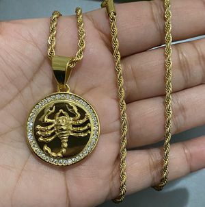 Icedout SCORPIO necklace for Sale in Los Angeles, CA