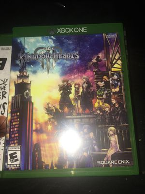Kingdom Hearts 3 Xbox One for Sale in Hartford, CT