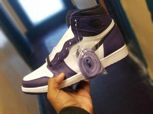 Jordan retro 1 high og court purple size 10.5 for Sale in Reynoldsburg, OH